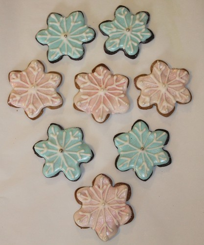 Sugar Cookie Trees, Doves, and Snowflakes