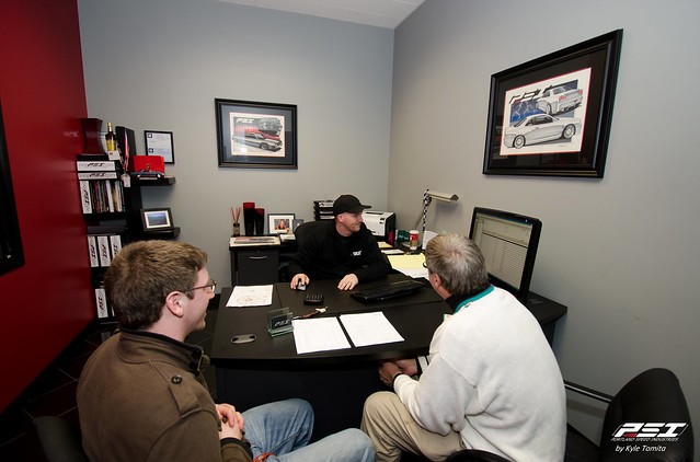 AJC Drift - Meeting to prep for Formula Drift Season 2012