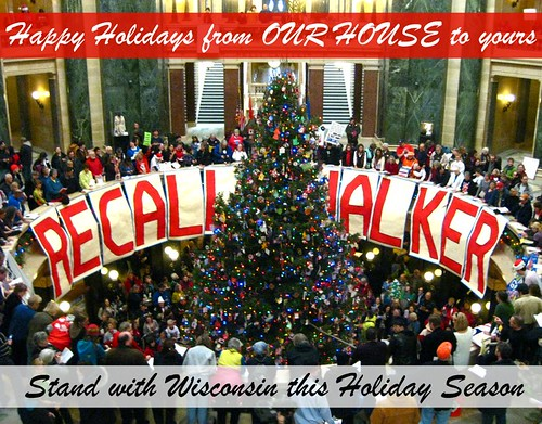 Happy Holidays from Wisconsin Capitol