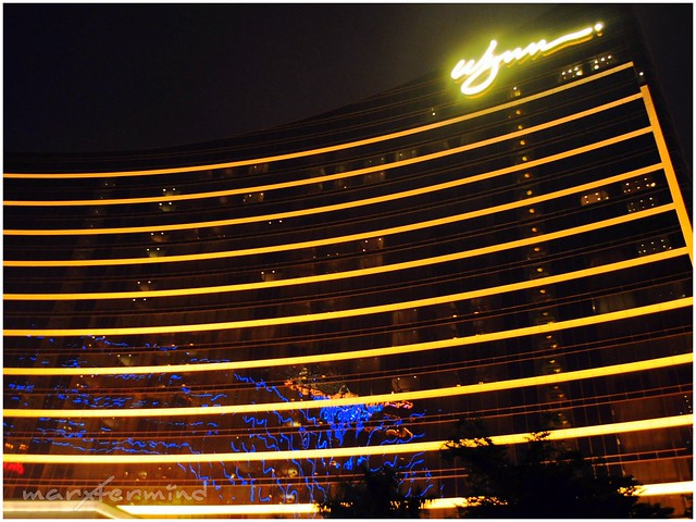 Wynn Hotel at Night
