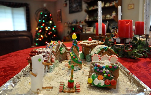 352 - Gingerbread Village by carolfoasia