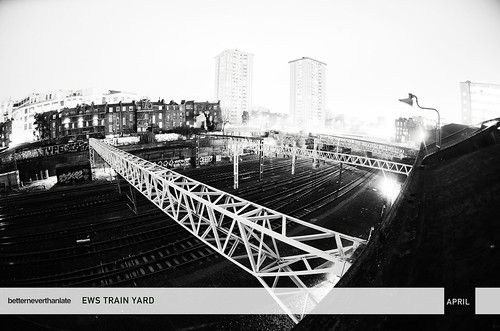 04_APRIL - EWS TRAIN YARD