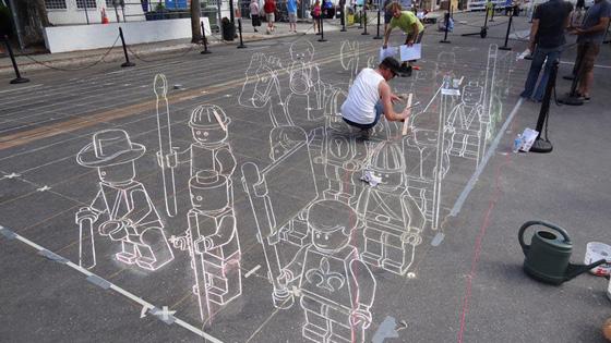 3D street art, photo via Street Art Utopia