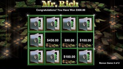 Mr. Rich bonus game