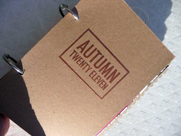 Autumn Minibook