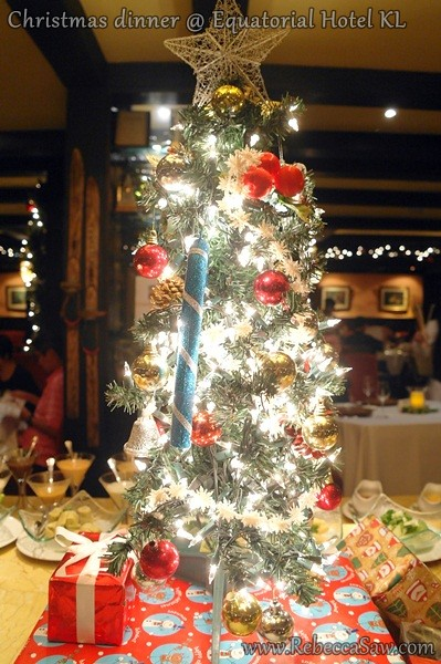 christmas dinner - Equatorial Hotel KL-9