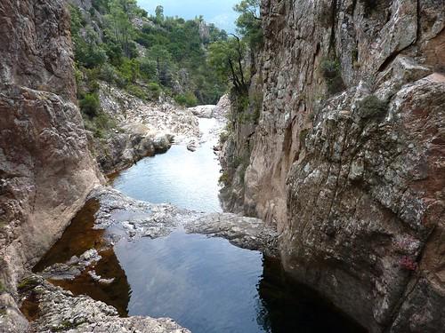 Canyon du Niffru : le canyon et ses deux seuils de départ