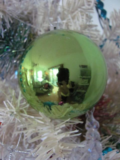 Metallic green ball day