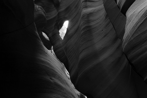 Antelope Canyon: Neck