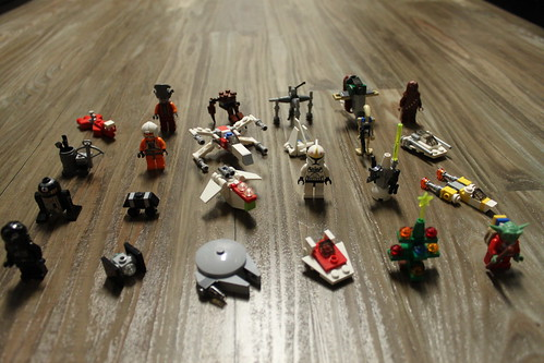 LEGO Star Wars 2011 Advent Calendar