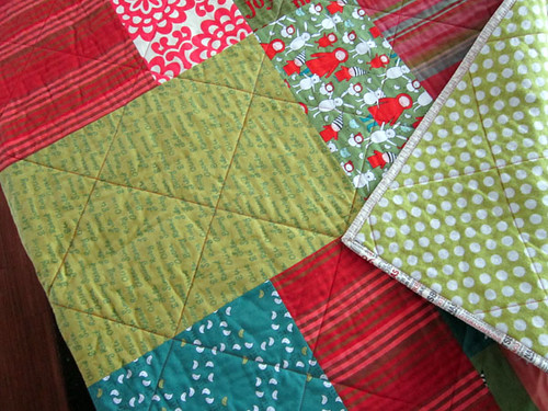 diamond quilting!