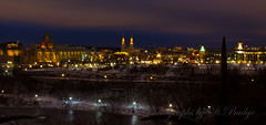 View from the Hill at night by dick.budge
