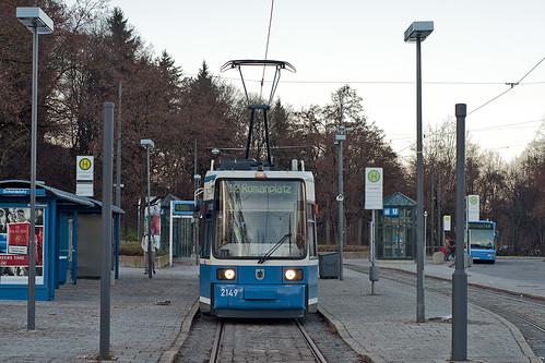 Die Trambahnlinie 12 fährt wieder zum Scheidplatz