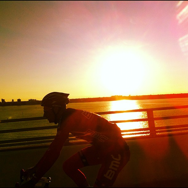 When not being harassed and rammed by motorists. The scenery is nice. #festive500 #Florida