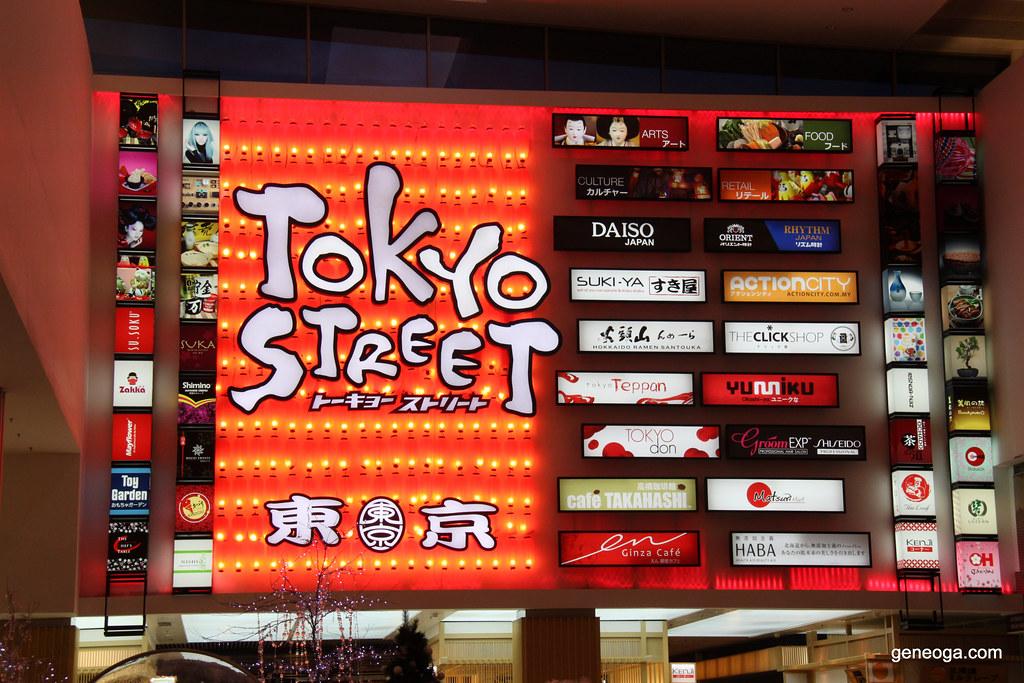 Tokyo Street, Pavilion KL