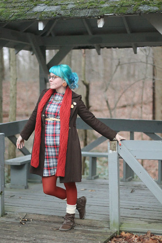 What I Wore: Layered - photo by Kaylah Doolan of the Dainty Squid blog 2