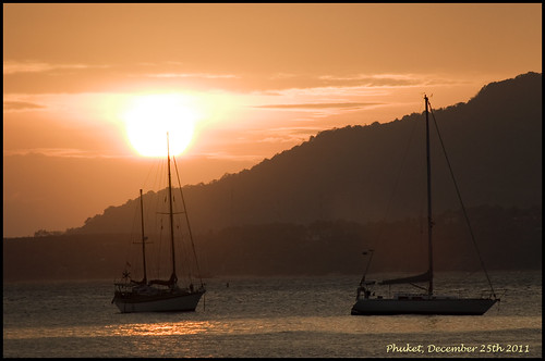 Christmas Day sunset, Phuket