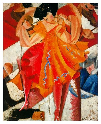 019-Bailarina articulada 1915-Gino Severini