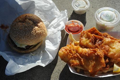 Fish n Chips + Burger