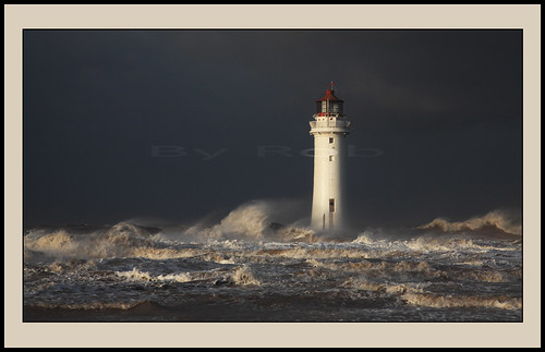 Angry sea at New Brighton. 3