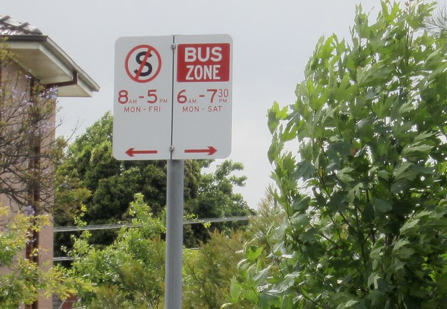 POTD: Bus zones not updated to reflect new bus timetables