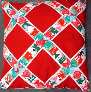 Christmas x-string pillow