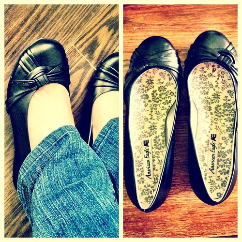6621667703 630c1b897d Thrift Store Fashion   Brand New Flats
