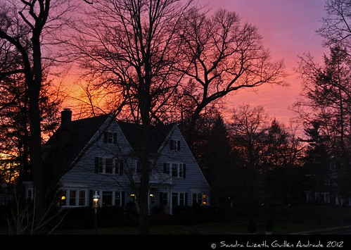 winter sunset usa atardecer newjersey invierno silueta southorange irvingave