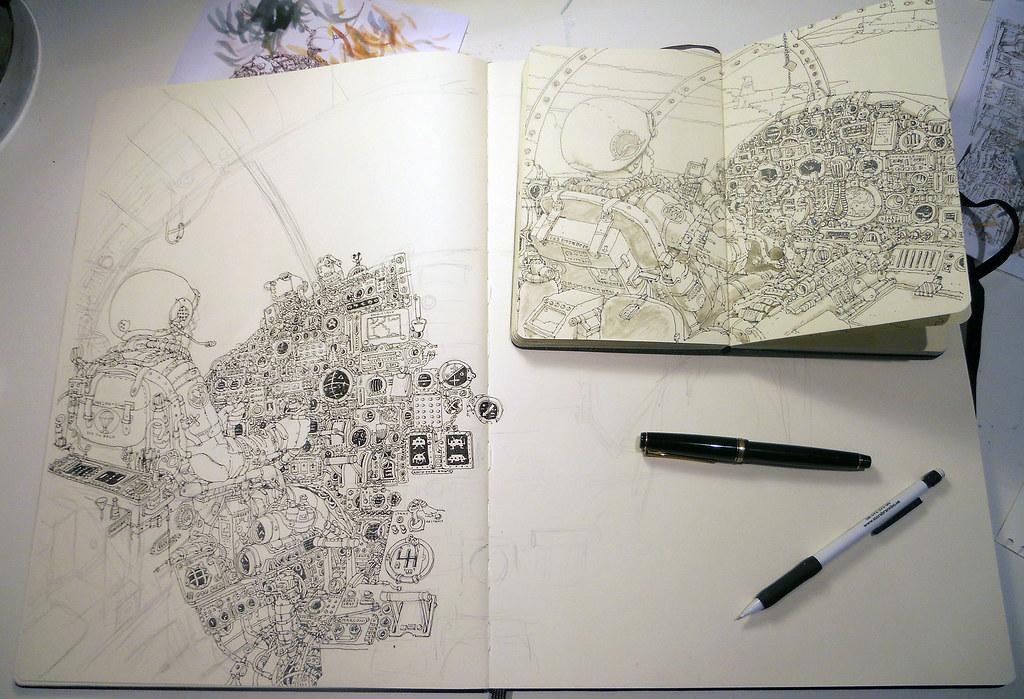 Moleskine sketchbbok19