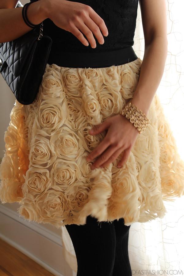 target dress free people rose skirt chanel bag f21 bracelet ootd