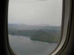 Approaching Busuanga
