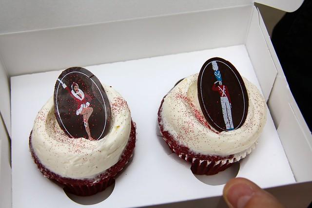 red velvet cupcakes - Magnolia Bakery