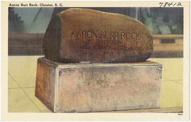 Header of Aaron Burr