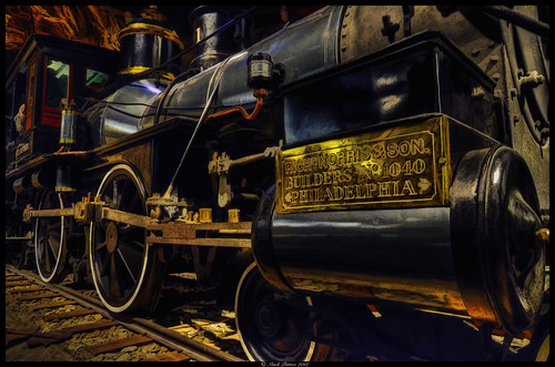 california art museum train nikon state locomotive hdr d7000 ©markpatton