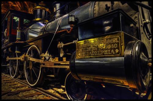 california art museum train nikon state locomotive hdr d7000 ©markpatton