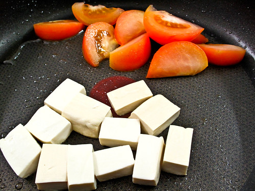 IMG_0924 Tofu and tomato ,番茄和豆腐