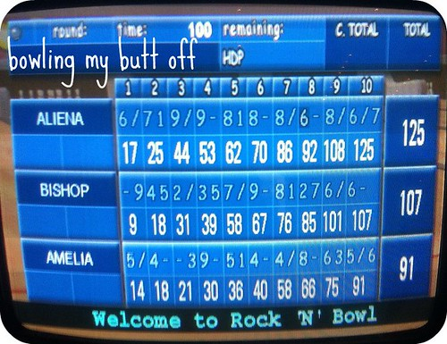 Bowling with Bishop