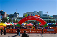 Taiwan Cultural & Traditional Games Festival on Aotea Square