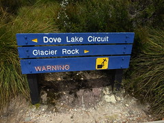 """Dove Lake Circuit"" to Glacier Rock 6/72"