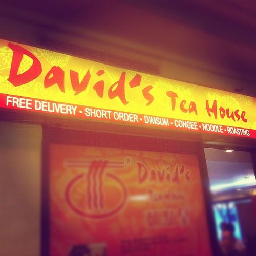 Lunch @ Davids tea house