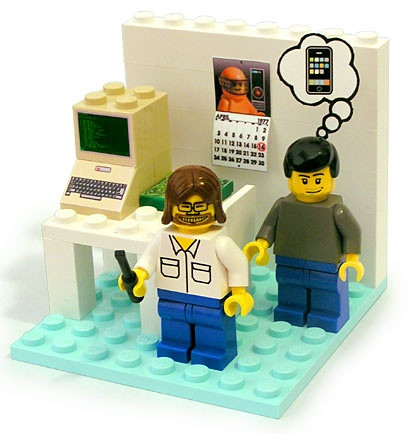 #ZANELOVES: Young Woz & Steve Jobs #LEGO Playset ~ Only 300 Made & #1 of #300 Can Be Yours....for $1,500.00!