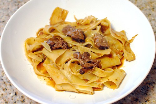 6682916891 7dcef6b470 Pappardelle with Oxtail Ragu