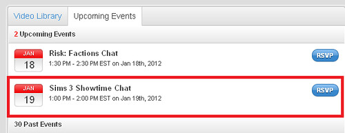 Showtime Chat