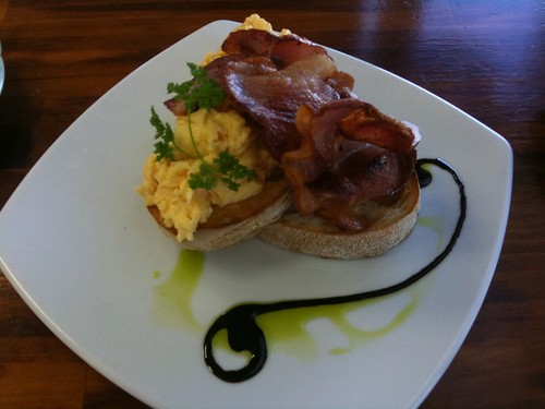Bacon & Scrambled Eggs ($11.50)