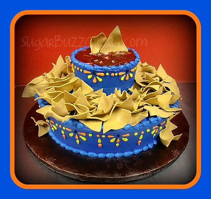 Chips And Salsa Birthday Cake Flickr Photo Sharing