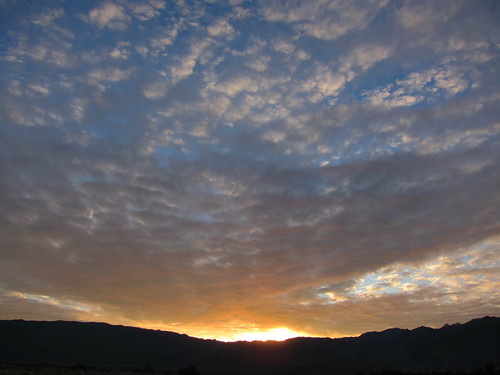Borrego Springs sunset