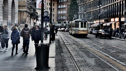 Corso Torino - Milano autumn-time by Fabrizio Di Pietro