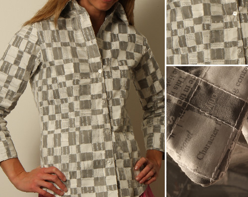 Paper blouse