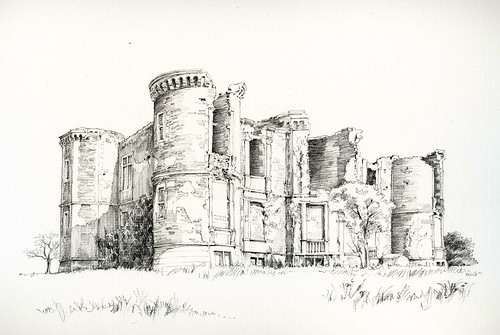 Château du Breuil, Iffendic, Ille-et-Vilaine, France by Linda Vanysacker - Van den Mooter