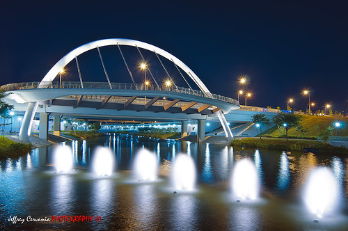 Punggol Waterfront Bridge